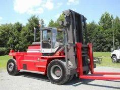 2002 Kalmar DCD250-1200 26 ton Diesel Forklift