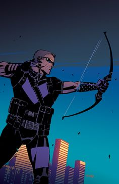 Hawkeye illustrated by Kelsey Shannon
