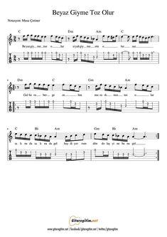 Guitar Notes, Ukulele Tabs, Accordion Sheet Music, Guitar Sheet, Kalimba, Clarinet, Music Theory, Guitar Lessons, The Godfather