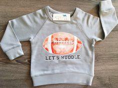 Let's Huddle, Football, Boy, Girl, Unisex, Gender Neutral, Infant, Toddler…