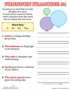 4th Grade Math Word Problems Worksheets Word Pronoun Worksheet  Pronoun Worksheets Worksheets And Language Spelling Worksheets Ks3 Word with Create Handwriting Worksheets Free Word Pronoun Practice  Molar Mass Practice Worksheet Answers Word