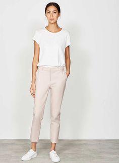 Blossom Stretch Crop Trouser | New in | MintVelvet