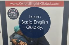 There are lots of ways to learn Basic English quickly. Take an immersion course, learn English online or watch English movies and read English books.Click VISIT for more English learning hints and tips.#oxfordenglishacademy #learnenglish #learnenglishcapetown #englishcourse