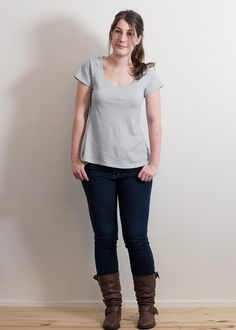 Free Plantain T-shirt Pattern by Deer & Doe