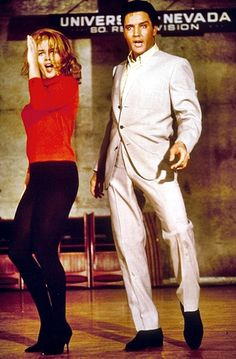 How did Elvis Presley make those kind of moves? But then again Ann Margaret could make  those moves too. Ann Margaret, Elvis Presley