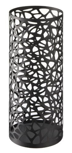 Nest - Black Metal Round Umbrella Stand, Modern Home Decor Sunline,http://www.amazon.com/dp/B0074B2P60/ref=cm_sw_r_pi_dp_ZsBltb1T8S4B5JBP