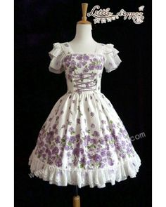 ✿ Elegant classic lolita jumper dress with beautiful rose prints.✿