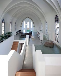 Amazing loft in an old church.