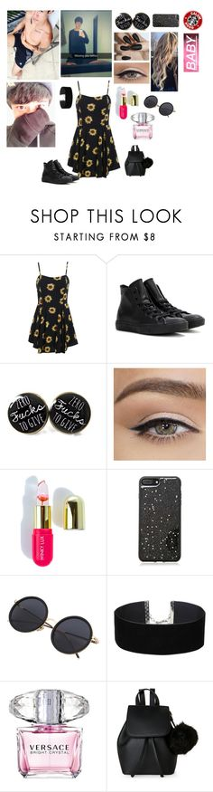 """Calum ❤️"" by rxvenclxw ❤ liked on Polyvore featuring Converse, Winky Lux, Forever 21, Miss Selfridge, Versace, IMoshion, calumhood, polyvoreeditorial and 5secondsofsummer"