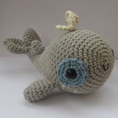 Amigurumi Whale  PDF crochet pattern by anapaulaoli on Etsy, $4.00