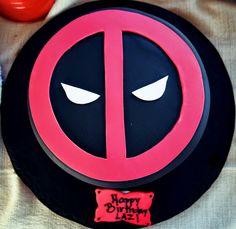 Deadpool Birthday cake by Edda's Cake Designs Photo by: Stephanie Ponce