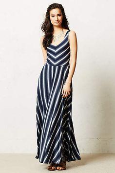 a3a54427d1aaf Tamsin Maxi Dress - anthropologie.com Navy Maxi, Striped Maxi, Anthropologie  Dresses,