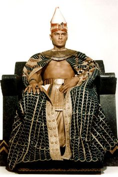 Yul Brynner costume