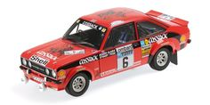 FORD ESCORT II RS1800 - 'COSSACK' - CLARK/PEGG - WINNERS RAC RALLY - 1976 - Racing cars - Die-cast | Hobbyland Scale model car made of metal / Die-cast / in 1:18 scale manufactured by Minichamps.