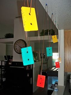Cute Idea for an themed party decor from Pear Tree Events: Katie's Birthday 80s Birthday Parties, 80th Birthday, Birthday Party Themes, Birthday Ideas, Eighties Party, 80s Party Decorations, Hipster Party, Party Time, Party Party