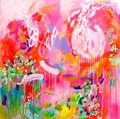 "Saatchi Art Artist DURA HANA; Painting, ""*SOLD- Watch Me Dance, Laugh & Love"" #art"