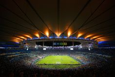 A general view of the stadium during the 2014 FIFA World Cup Brazil Group F match between Argentina and Bosnia-Herzegovina at Maracana on June 15, 2014 in Rio de Janeiro, Brazil. (Photo by Clive Rose/Getty Images)