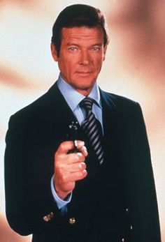 Roger Moore as James Bond Dalton James, Timothy Dalton, James Bond Party, James Bond Theme, James Bond Books, James Bond Movies, Eric Rogers, Bond Series, Spy Who Loved Me