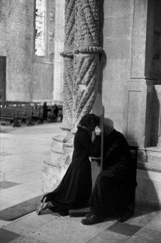 Monasterio Jerónimos, Belém, Lisboa, Portugal, 1955. Henri Cartier-Bresson