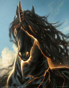 black unicorn  <3