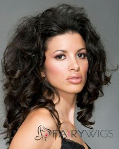 Sparkle Lace Front Medium Wavy Sepia Remy Hair Wig : fairywigs.com