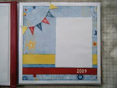 Scrap With Heather: Fanfare Layout with lots of Flip Flaps Z1235  (Mag...