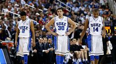 Quinn Cook, Seth Curry and Rasheed Sulaimon