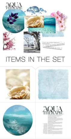 """""""Aqua Therapie"""" by thedecorationqueen on Polyvore featuring art"""
