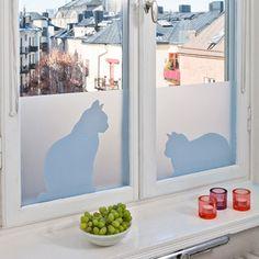 ACHICA | LADP Ella & Ceasar Frosted Window Film