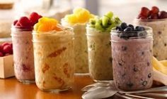 If you haven't discovered overnight fridge oats yet, you are REALLY missing out on a tasty and time saving recipe. And I have a LOT more Fat Burning recipes that are just as quick an easy in my book here: http://www.eatdrinkshrinkplan.com/bikini-body-recipes-offer/