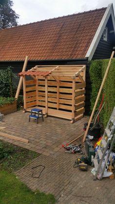 Outdoor Firewood Rack, Firewood Shed, Firewood Storage, Outdoor Storage, Log Shed, Bike Shed, Wood Storage Sheds, Wooden Sheds, Garden Cabins