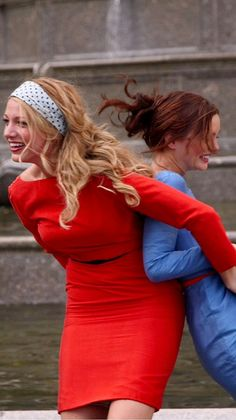 Mode Gossip Girl, Estilo Gossip Girl, Gossip Girl Blair, Gossip Girl Outfits, Gossip Girl Fashion, Gossip Girls, I'm Chuck Bass, Blair And Serena, Gossip Girl Quotes