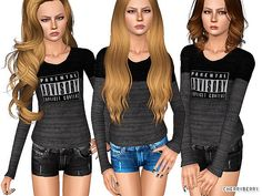 •Sims 3 Clothes ~Teen sweater~