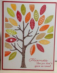 Korttitalkoot: Stanssattu puu   Flickr - Photo Sharing!