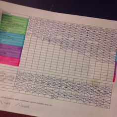 Using a charting system will help you keep track of what you are eating as you heal your body.