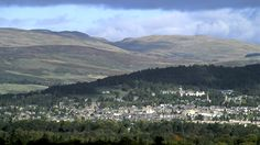 Crieff, Perthshire - It's even more beautiful in person. So glad my husband is from Scotland so I get to live here.