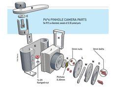 3D-Printed Pinhole Camera