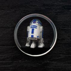 R2D2 Plugs 3D Printed Pair handmade star wars por OjingoStudio