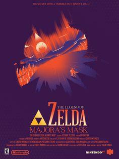 Video Games - Zelda: Majora's Mask - Marinko Milosevski Illustration and Design