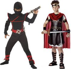 <p>Ninjas have long fascinated boys because of the daring stealth in which these silent warriors moved and fought. There are many legends featuring ninjas and in some countries, there are even schools that focus specifically on teaching this form of defense and survival skills. Ninja Halloween costumes for boys are …</p>