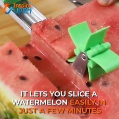 Melon Slicer Cutter Tool 😍 Introducing the Melon Slicer Cutter Tool, an innovative slicer comes with an automatic cutter blade. Make your own melon salad in one minute, enjoy refreshing fruit cubes hassle free without dealing with drippy mess. Cooking Gadgets, Gadgets And Gizmos, Cooking Tools, Cooking Recipes, Beef Recipes, Cool Kitchen Gadgets, Kitchen Hacks, Cool Kitchens, Melon Salad