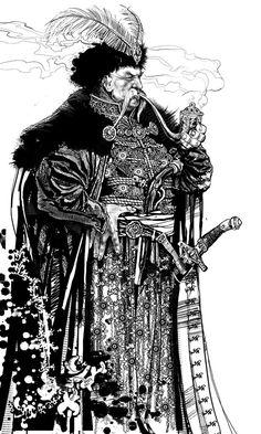 Образи козаків в малюнках та ілюстраціях | Офіційний сайт Української Національної Федерації Хортингу