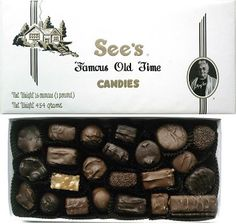 Sees Candy I am so loved my parents always make me a personal box w all my favorites ) plus I am allergic to walnuts.my fave chocolate! & Black Forest Truffle (4 oz.) | Seeu0027s Candies | Products I Love ... Aboutintivar.Com