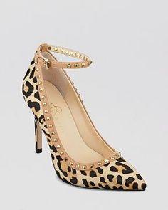 IVANKA TRUMP Pointed Toe Pumps - Galyns Leopard High Heel on shopstyle.com
