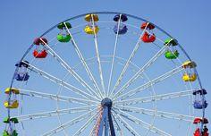 Ocean Print Ferris Wheel print Cabin decor by WorldPhotographies