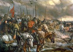 The Battle of Agincourt was a major English victory against a numerically superior French army in the Hundred Years' War.