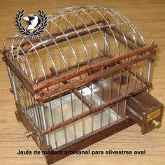 Resultado de imagen para jaulas de madera