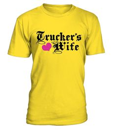# Truckers Wife .  special design, NOT in stores available.  just now temporary for just € 14,95,- so get it NOW. In many designs and colors and sizes (S till 5x XL)    TAG all your trucker friends ;-)    Different shirts and colors  more shirts can be found here: sweet-shirts     safe payments:How to place an Order ?  1. Choose the model from the drop-down menu  2. Click on ( Koop Nu or Buy Now )  3. Choose the size and the quantity  4. Add your delivery address and bank details…