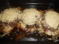 Steak haché aux fromage