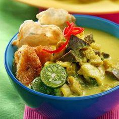 kumpulan resep masakan indonesia soto kuning bogor